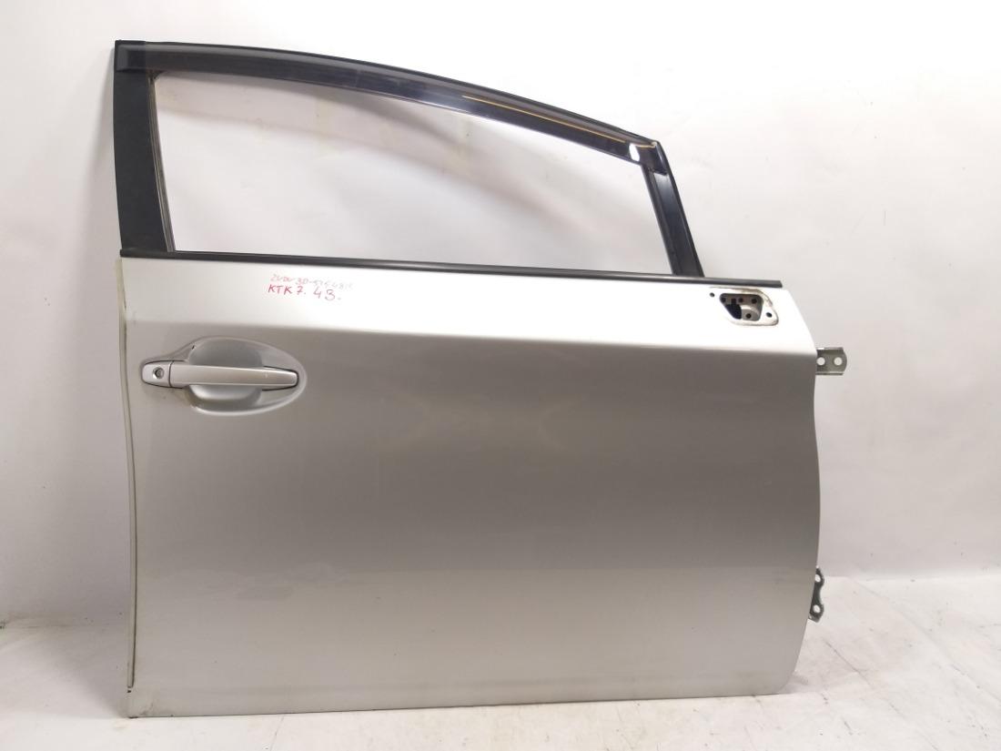 Дверь Toyota Prius ZVW30 2ZRFXE 2010 передняя правая