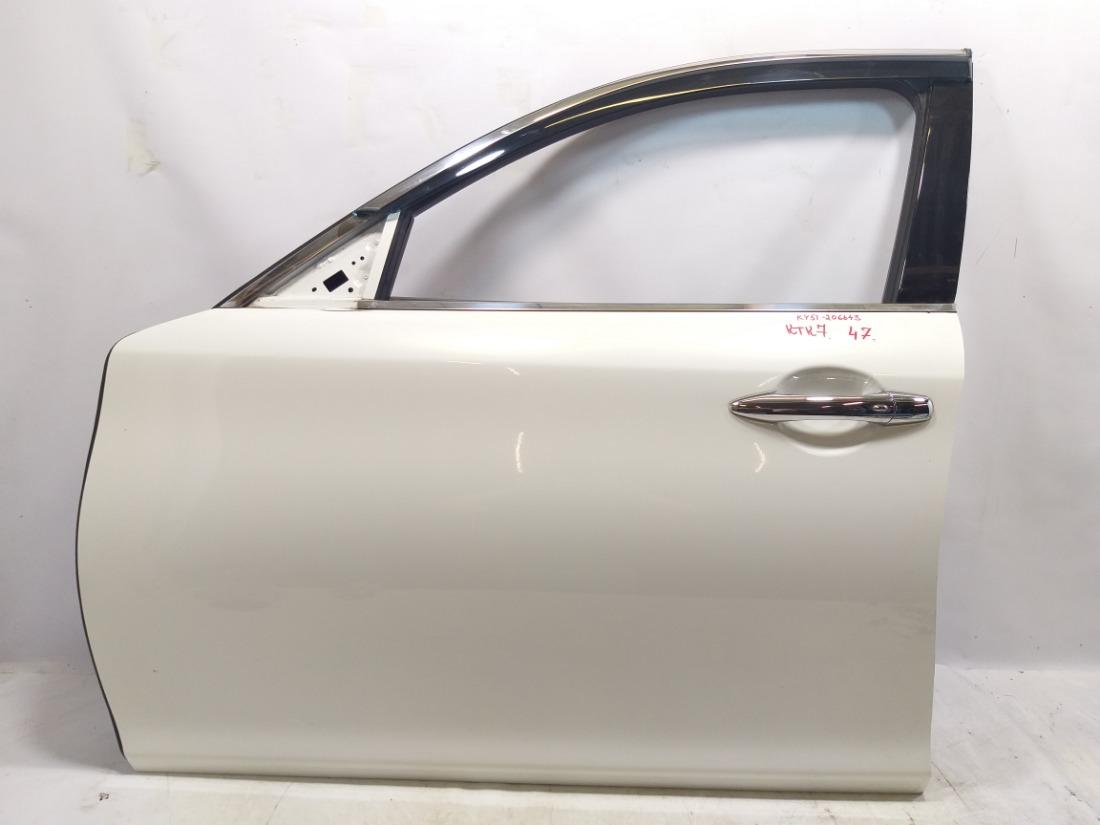 Дверь Nissan Fuga Y51 VQ37VHR 2009 передняя левая