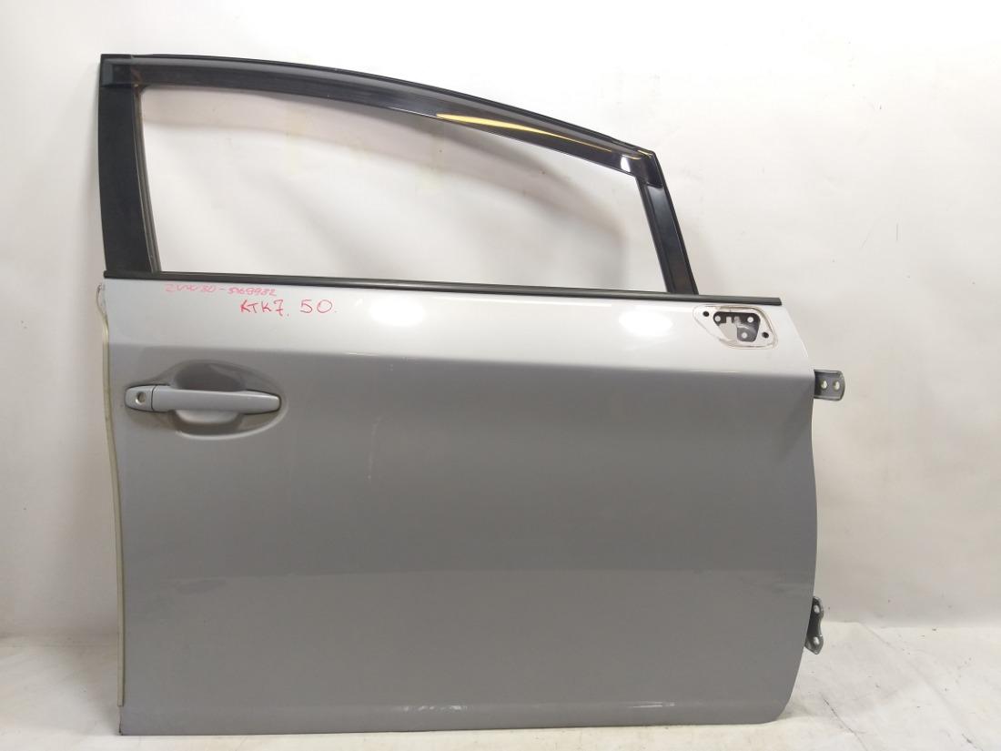 Дверь Toyota Prius ZVW30 2ZRFXE 2009 передняя правая