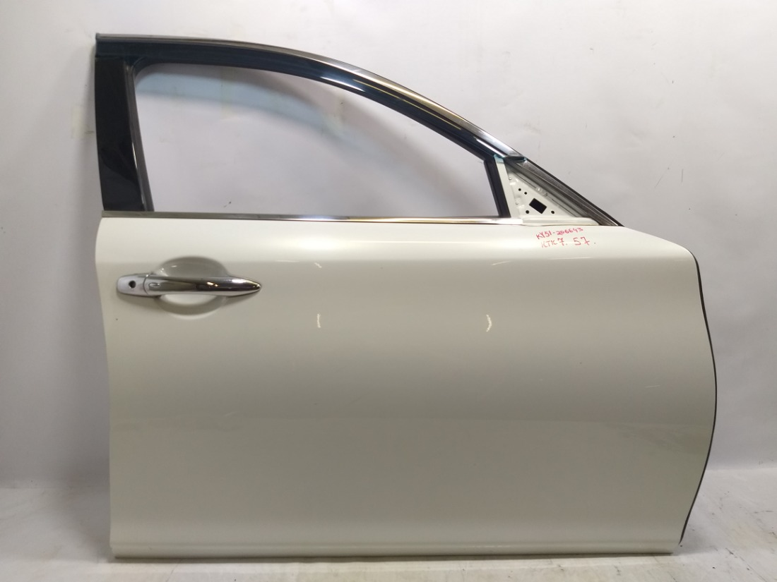 Дверь Nissan Fuga Y51 VQ37VHR 2009 передняя правая