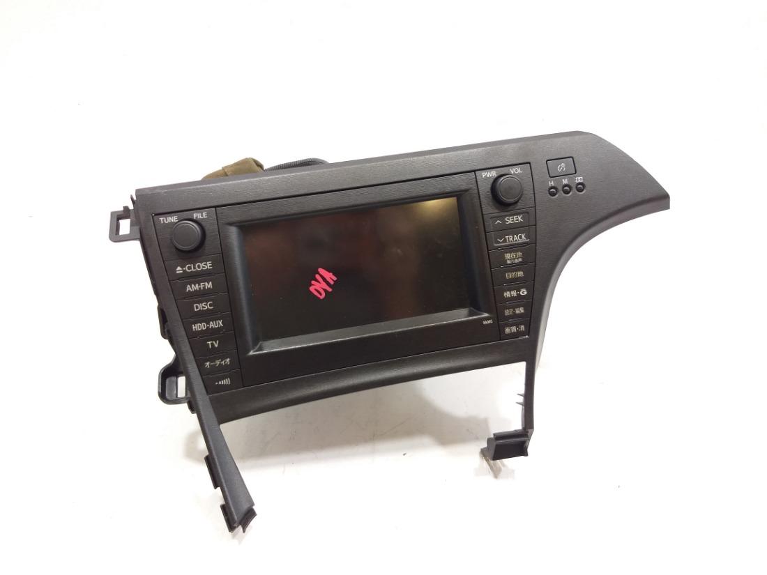 Магнитофон Toyota Prius ZVW30 2ZRFXE 2009