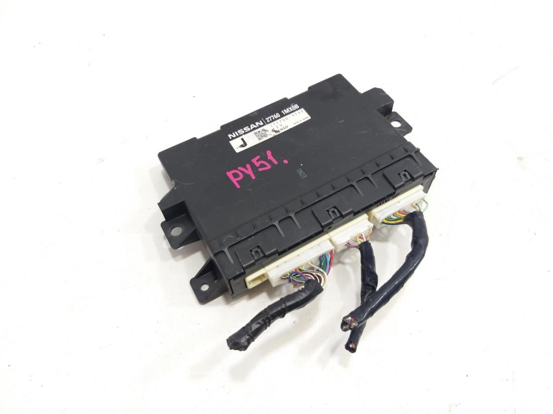 Электронный блок управления кондиционером Nissan Fuga Y51 VQ37VHR 2009
