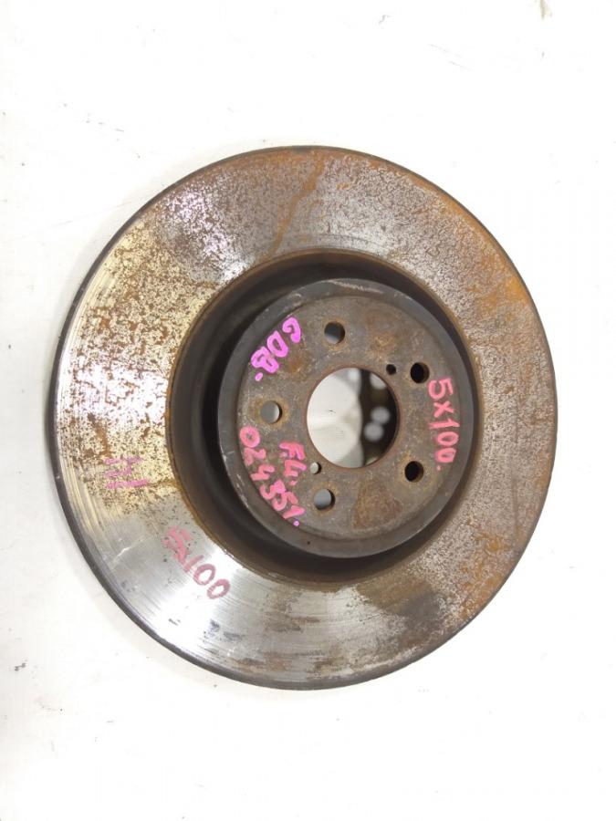 Тормозной диск Subaru Impreza GDB EJ207 2003 передний