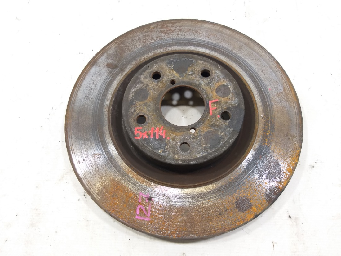 Тормозной диск Subaru Impreza Wrx Sti GDB EJ255 2003 передний