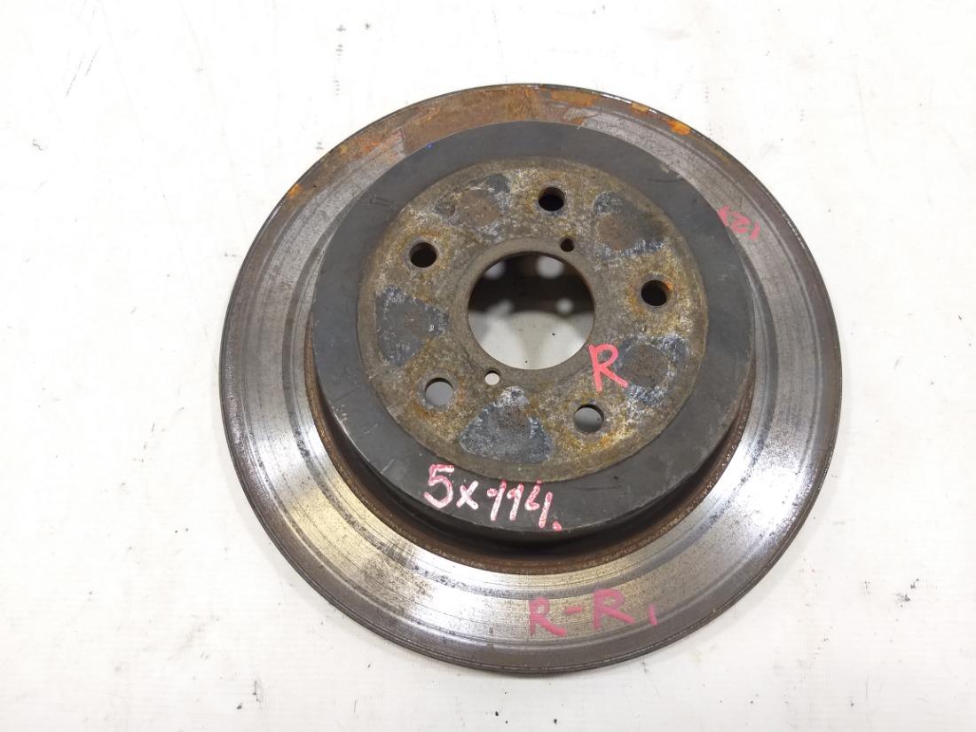 Тормозной диск Subaru Impreza Wrx Sti GDB EJ255 2003 задний