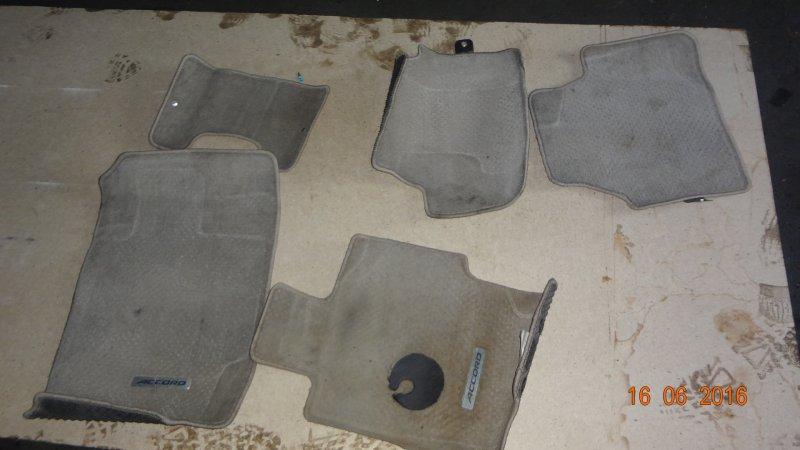 Коврики комплект Honda Accord CL9 K20A 2007
