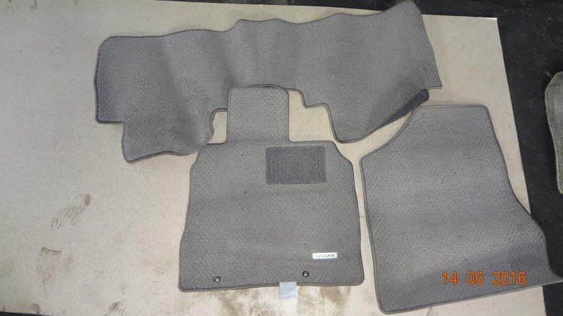 Коврики комплект Nissan Murano PNZ50 VQ35DE 2004