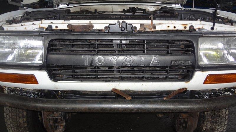 Решетка радиатора Toyota Landcruiser HZJ81 1HZ 1991
