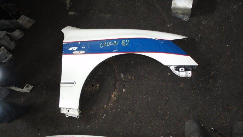 Крыло Toyota Crown GRS182 3GR-FSE 2007 переднее правое