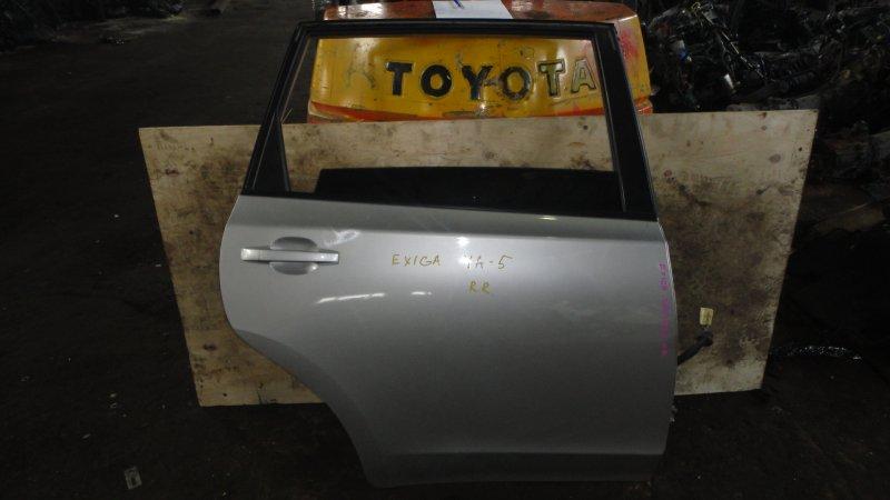 Дверь Subaru Exiga YA5 EJ20 2009 задняя правая