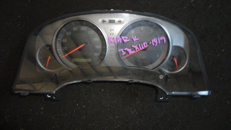 Панель приборов Toyota Markii JZX110 1JZ-GTE 2001