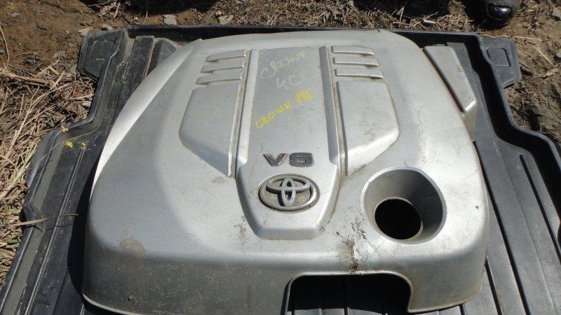 Крышка двс декоративная Toyota Crown GRS180 4GR-FSE 2005