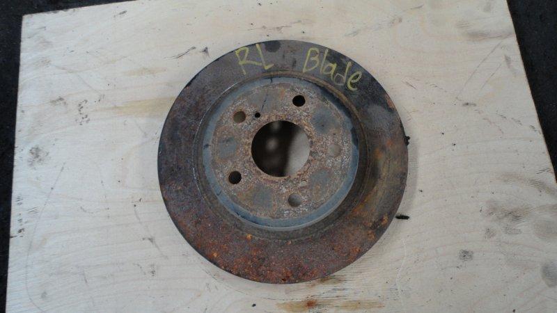 Тормозной диск Toyota Blade AZE156 2AZ 2008 задний
