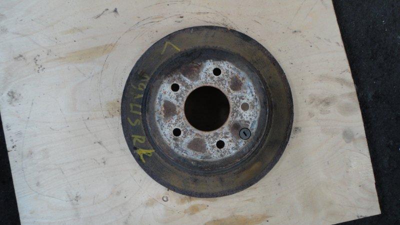 Тормозной диск Nissan Dualis NJ10 MR20 2008 задний