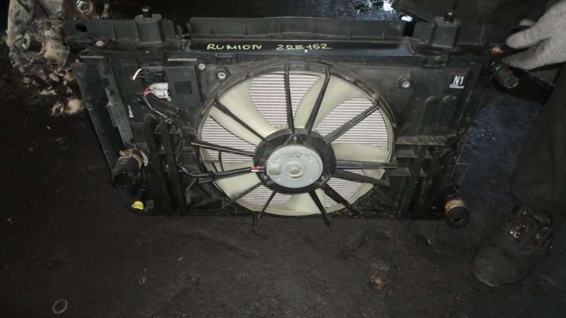 Радиатор Toyota Corolla Rumion ZRE152 2ZR-FE 2008