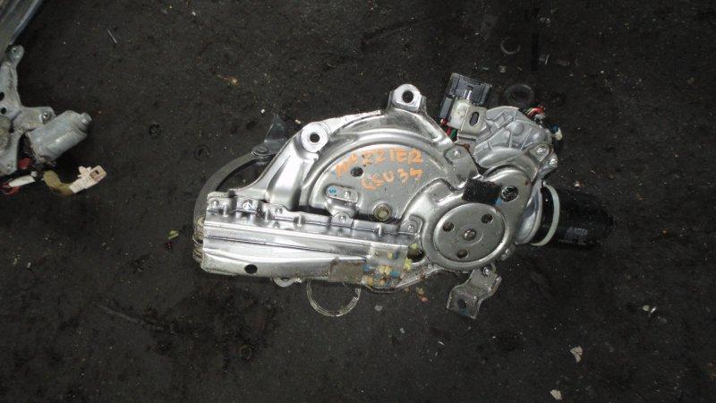 Доводчик двери пятой Toyota Harrier GSU35 2GR-FE 2008
