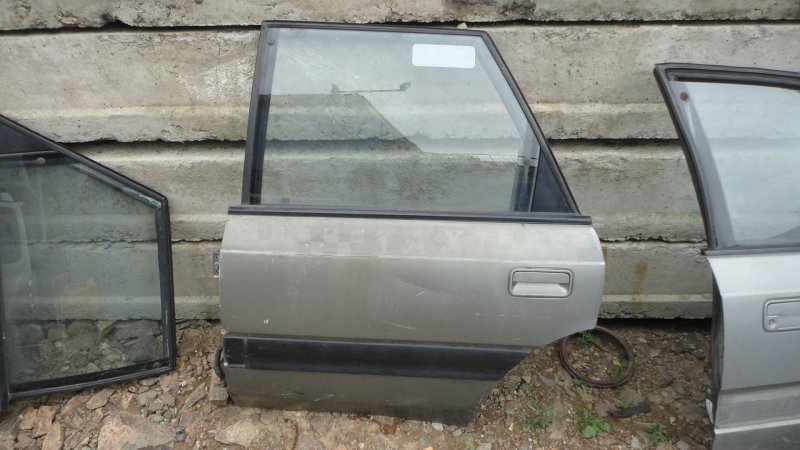 Дверь Mazda Capella GVER FE 1997 задняя левая