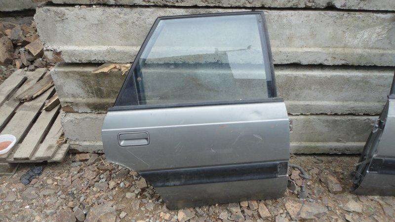 Дверь Mazda Capella GVER FE 1997 задняя правая
