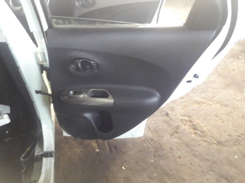 Обшивка дверей Nissan Juke YF15 HR15DE 2011 задняя правая
