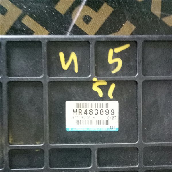 Блок управления автоматом Mitsubishi Pajero V45W 6G74-SG3909 1997