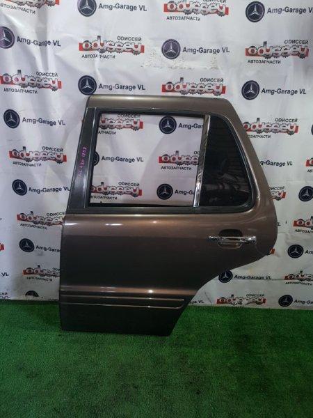 Дверь Mercedes M430 W163 113942 30 100979 1999 задняя левая
