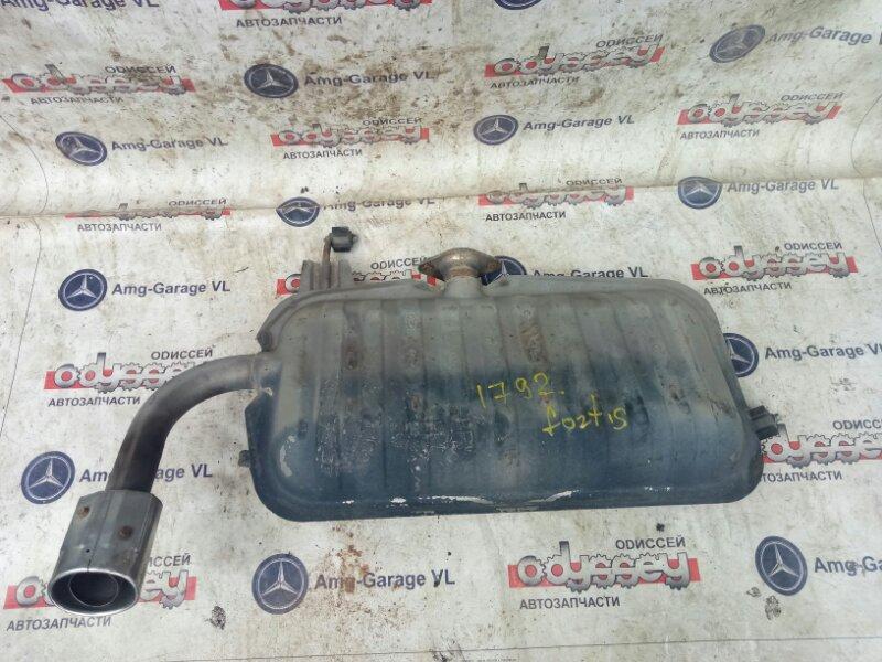 Бочка глушителя Mitsubishi Galant Fortis CY4A 4B11-AQ9647 2007