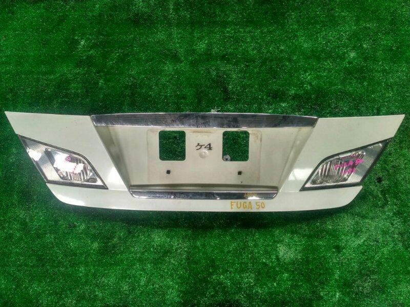 Крышка багажника Nissan Fuga PNY50 VQ35-408459B 2004