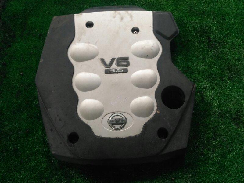 Крышка двс декоративная Nissan Fuga PNY50 VQ35(DE)-289590B 2006