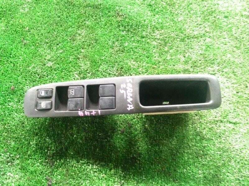 Блок управления стеклами Nissan Serena CC25 MR20-344989A 2007 передний правый