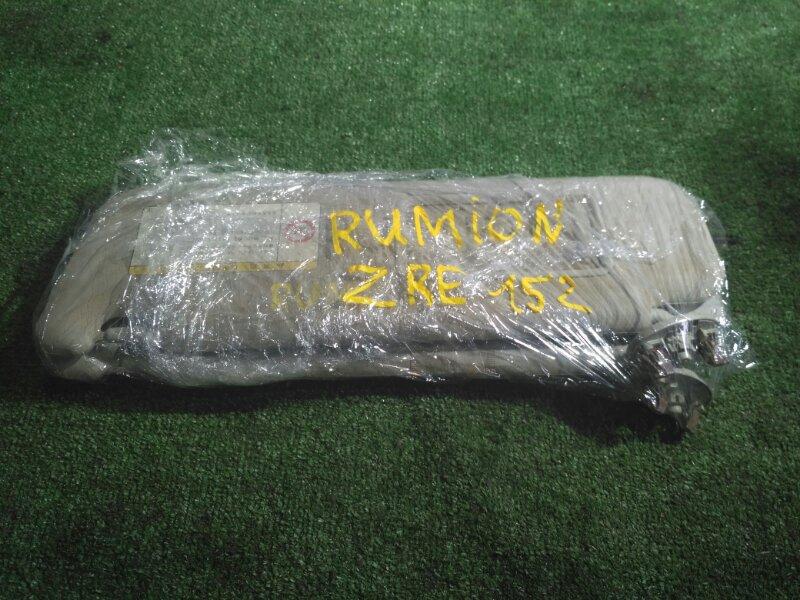 Козырек Toyota Corolla Rumion ZRE152