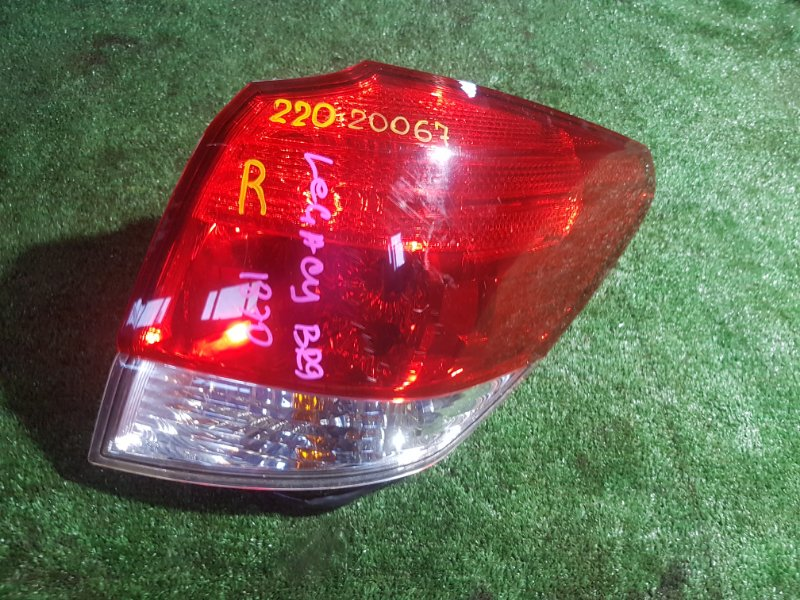 Стоп Subaru Legacy BR9 EJ25-E021842 2009 задний правый