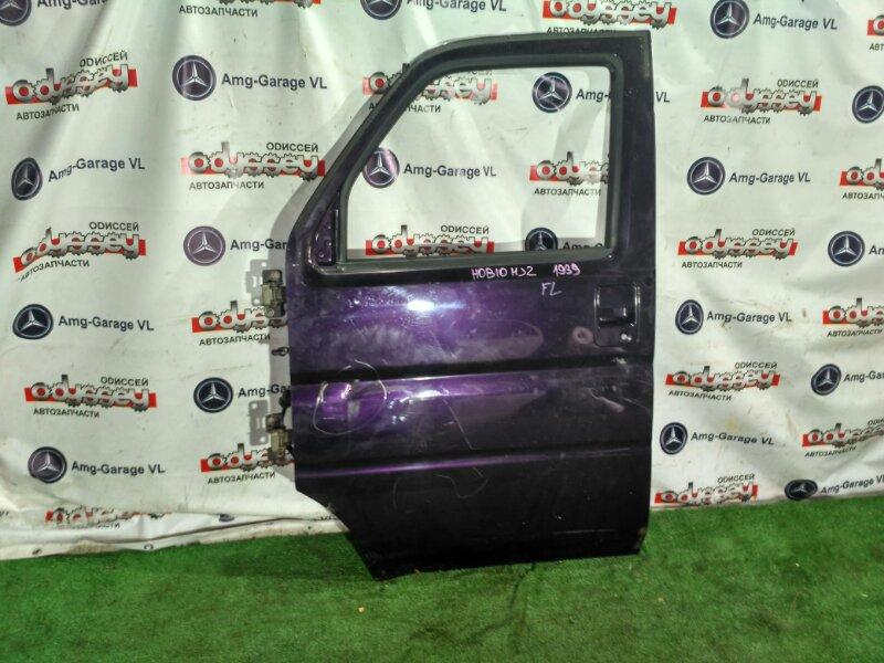Дверь Honda Vamos Hobio HJ2 E07Z-8387093 2012 передняя левая