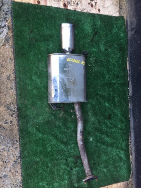 Глушитель Nissan Elgrand AVWE50 QD32-022425A 1997 задний