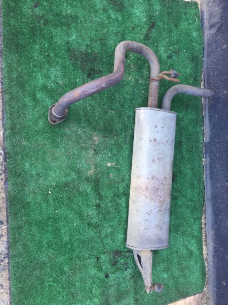 Бочка глушителя Toyota Raum NCZ25 1NZ-B740746 2005 задняя