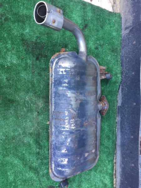 Бочка глушителя Toyota Camry ACV40 2AZ-FE-C012600 2006 задняя