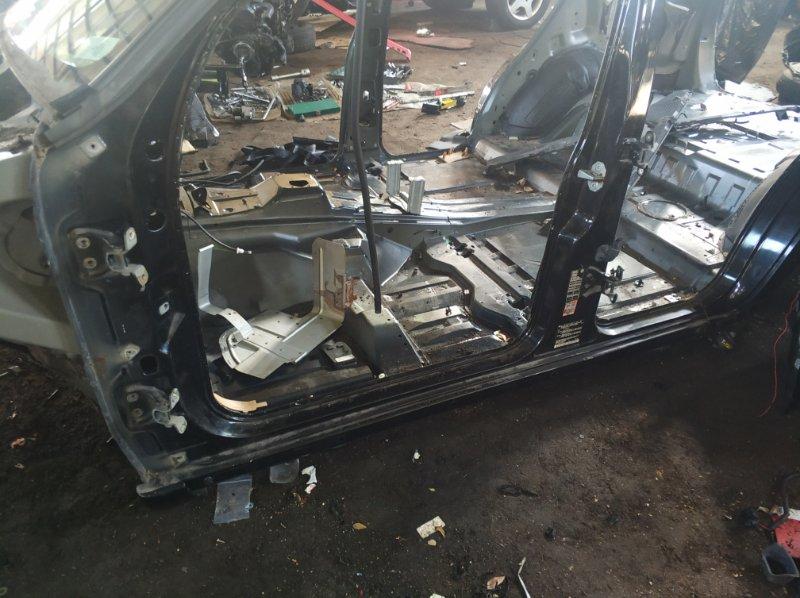 Порог кузова Mercedes M430 W163 113942 1999 левый