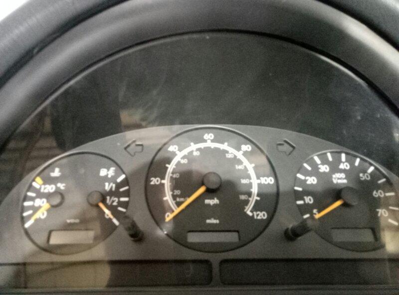 Панель приборов Mercedes M430 W163 113942 1999