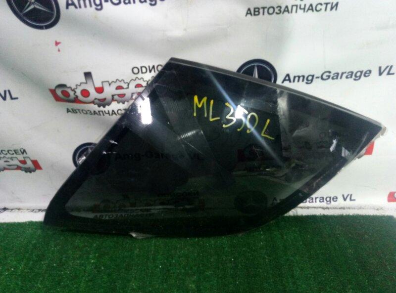 Стекло собачника Mercedes M430 W163 113942 1999 заднее левое