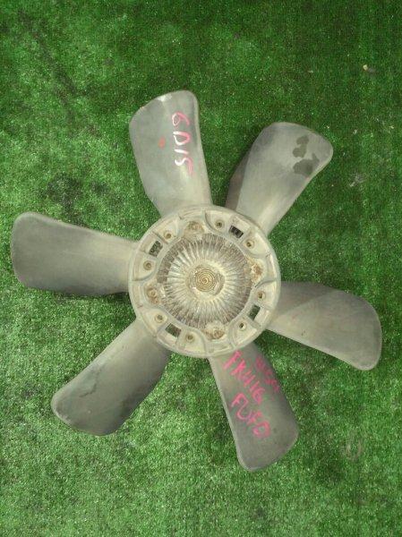 Вентилятор с вязкостной муфтой Mitsubishi Fuso FK416H-51792 6D15-39042 1984