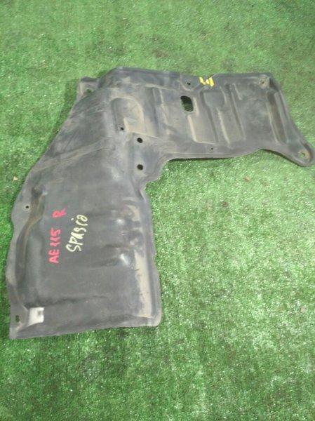 Защита двигателя Toyota Corolla Spacio AE115 передняя правая