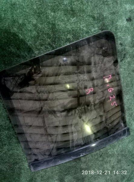 Стекло собачника Isuzu Bighorn UBS 25 DW 6VD1 заднее правое