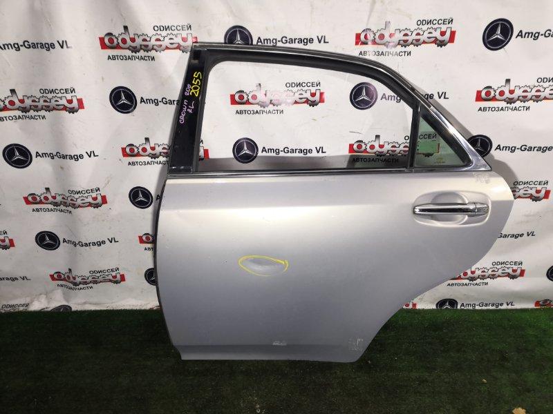 Дверь Toyota Crown Athlete GRS200 4GR-0452204 2008 задняя левая