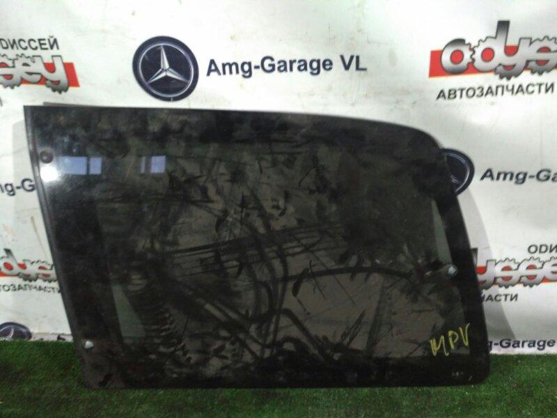 Стекло собачника Mazda Mpv LVLR WL-T 1997 заднее левое