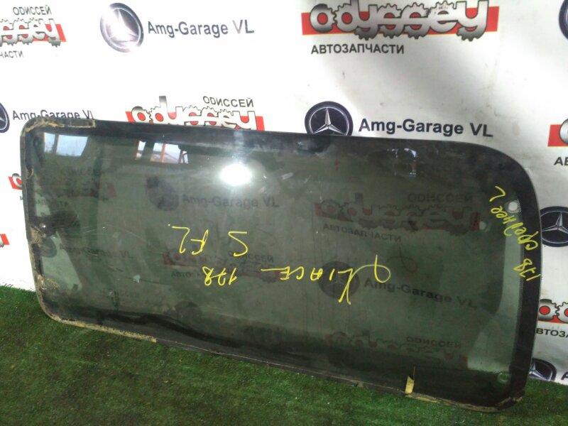 Стекло собачника Toyota Hiace LH178 5L заднее левое