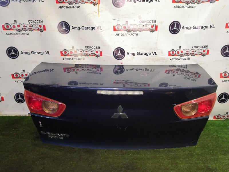 Крышка багажника Mitsubishi Galant Fortis CY4A 4B11-AR9250 2007 задняя