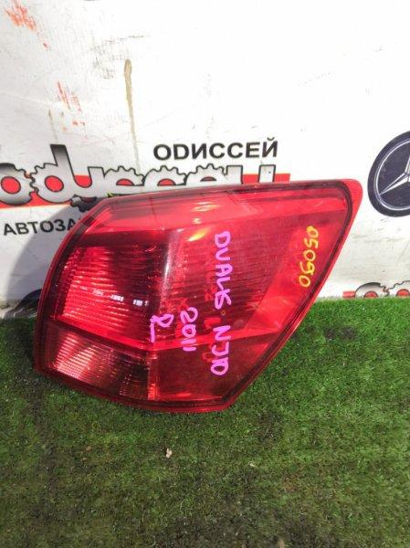 Стоп Nissan Dualis NJ10 MR20-308799A задний правый
