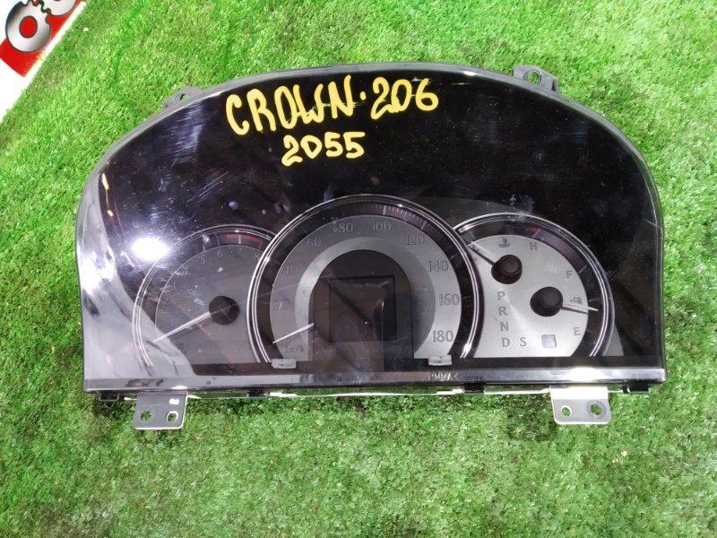 Панель приборов Toyota Crown Athlete GRS200 4GR-0452204 2008