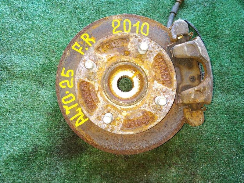 Ступица Suzuki Alto HA25S K6A-8655930 2011 передняя правая