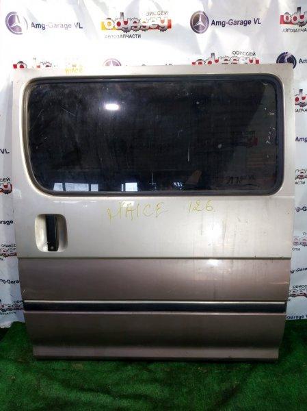 Дверь Toyota Hiace KZH126 2000 задняя левая