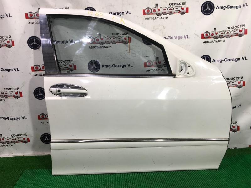 Дверь Mercedes S55 W220 113986 2000 передняя правая